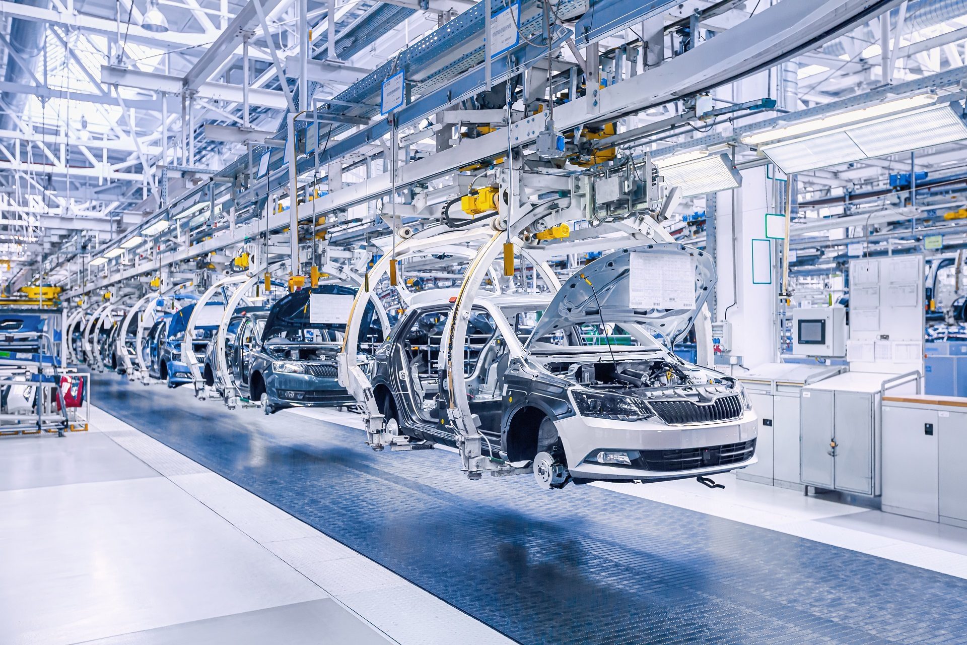 linha de produção setor automotivo